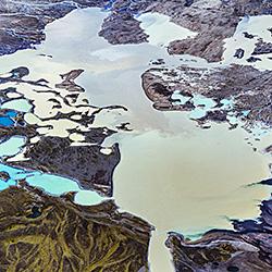 Icelandic volcanic lakes-Franco Cappellari-silver-landscape-575