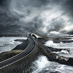 atlantic road-Patrick Curtet-silver-landscape-2438