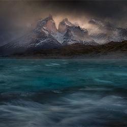 Stormy winds over the Pehoe lake-Peter Svoboda-silver-landscape-2426