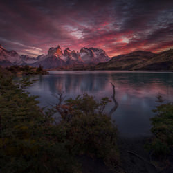 Calmness before the wind blows-Peter Svoboda-bronze-landscape-3353