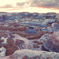 Blue Mesa at Painted Desert-Dolly Kabaria-finalist-landscape-3501