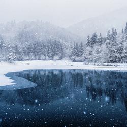 Snow Falling Pond-Kazuaki Koseki-finalist-landscape-3530