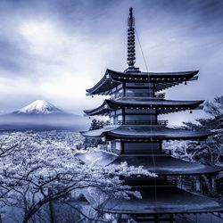 Spring of Japan-Takashi-bronze-landscape-5063
