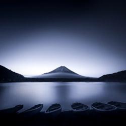 Boats at dawn-Takashi-bronze-landscape-5065