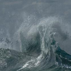 Wave Backwash-Steve Turner-Bronze-Landschaft-5056