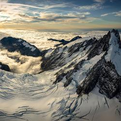 Victoria Gletscher-Stephan Romer-Bronze-Landschaft-5028