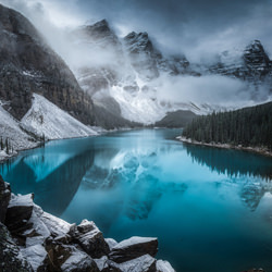 First Snowfall-Timo Heinz-bronze-landscape-5079
