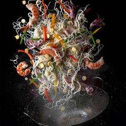 Noodle explosure-Roman Demchenko-silver-still_life-3937