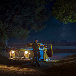 A starry night with Rover 100-Zhuo Ya-bronze-wedding-1802