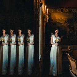 Bride Alone-Helena Jankovicova-bronze-wedding-3030