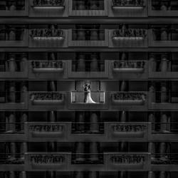Liebe und Kuss-Kenneth Lam-Bronze-Hochzeit-3092