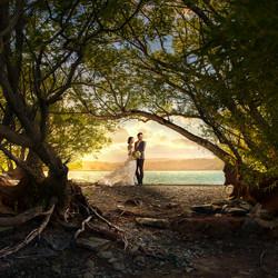 Sunset t Lake Tekapo-Zhuo Ya-silver-wedding-3312