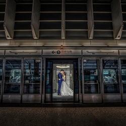 Bahnhof-Kenneth Lam-Bronze-Hochzeit-3102
