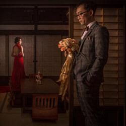 Bride in the Old generals room-Each Lee-finalist-wedding-6287