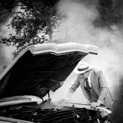 Car Trouble-Jan Van De Maat-bronze-wedding-6139