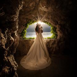 una stella di luce sulla sposa-Luigi Rota-bronze-wedding-6085