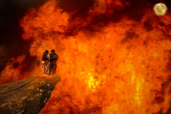 Photograph Thierry Malet On Fire on One Eyeland