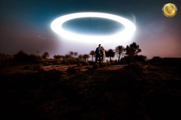 Photograph Daniel Meyer Wedding Ufo on One Eyeland