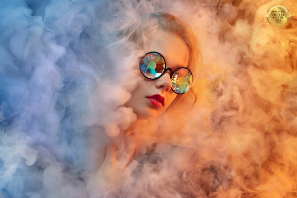Photograph Lustre Photoproduction Smoke on One Eyeland