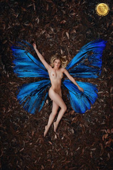 Photograph Ricardo Zanetta Butterfly Girl on One Eyeland