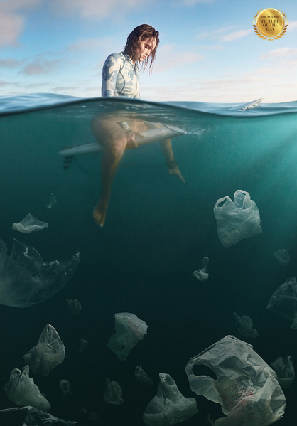 Photograph Weston Fuller Plastic Bags on One Eyeland