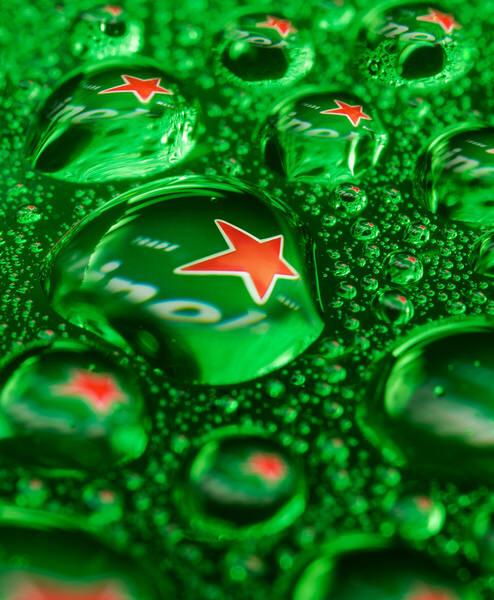 Photograph Jonathan Knowles Heineken Droplets on One Eyeland