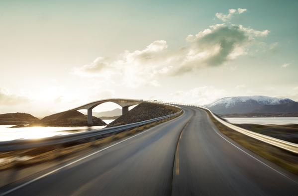 Photograph Mikolaj Niemczewski Road At High Speed on One Eyeland
