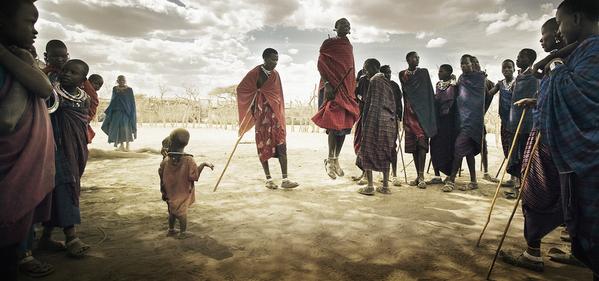 Photograph Chris Gordaneer Tanzania 4 on One Eyeland