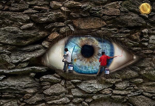 Photograph Joachim Stroelin The Eye on One Eyeland