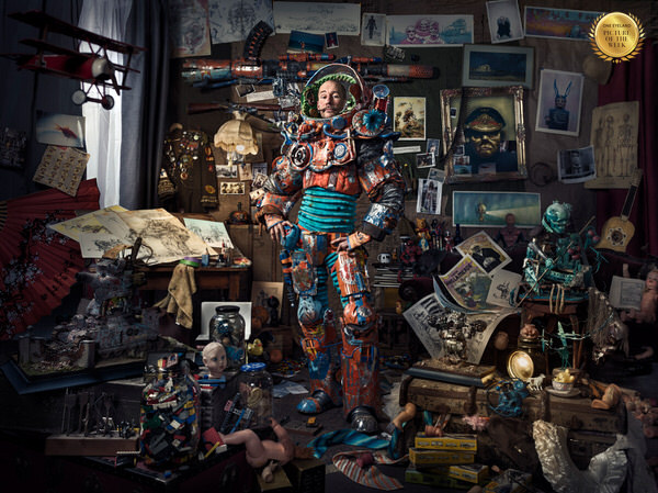 Photograph Keren Dobia The Toy Tinkerer on One Eyeland