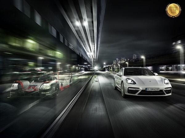 Photograph Stephan Romer Porsche E Performance on One Eyeland